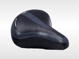 Седло комфорт 245*210 mm, на пружинах (черный)