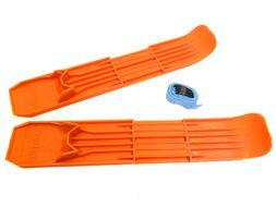 Мини-лыжи пластиковые большие в сетке