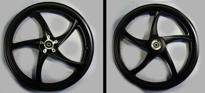 диск колесный передний 17-1,85 литой, дисковый Racer RC200-CS Skyway, STELS SB 200
