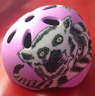Шлем детский PROPHETE, принт с лемуром, регулировка разм.