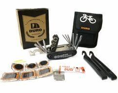 Набор инструментов, сумка DURO: Набор шестигранников 15в1, монтажки, велоаптечка, в фирм. упак. DURO