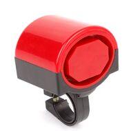 Звонок велосипедный, электрический, пластик (красный, 4630031482924)