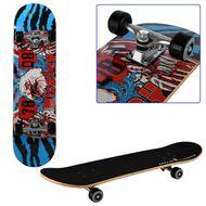 """Скейтборд RGX Display 31""""x8"""", подвеска 5 ALU, клён 9 слоёв, LG-303 (синий/красный)"""