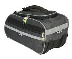 Велосумка COURSE Just-2 на багажник, влагозащищенная, нейлон, 40x20x17 см (вс096.040.1.1)