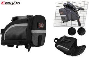 Велосумка, крепление под седло, 90x203x127 мм, EasyDo (черный, УТ00019047)