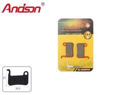 Тормозные колодки ANDSON для дискового тормоза (SHIMANO M765, M965, M966, M601, M800, M858 CALIPERS), блистер, K-3664