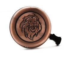 Звонок металлический, диаметр 53мм (винтажный лев, YL 20-3)