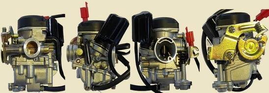 карбюратор 4T  139QMB  оцинкованный с электроклапаном