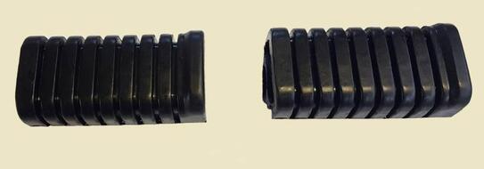 подножки передние резинки   DELTA, ALPHA (пара)