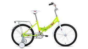 "ALTAIR CITY KIDS 20 Compact (20"" 1 ск. рост 13"" скл.) 2019-2020, зеленый, RBKT05N01002"