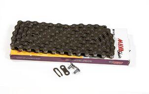 Цепь MAYA (С410) тормозная (112 звеньев) с замком, длина пина 8,6 мм (1 ск.) в инд. упаковке (С4101/2X1/8)