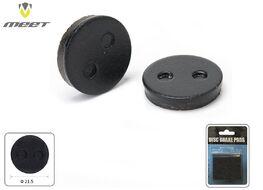 Тормозные колодки MEET для дискового тормоза FORWARD, XIAOMI Mi M365, (круглые 21.5мм), блистер, TP-08A (УТ00019069)