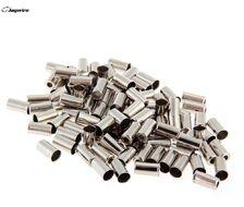 Наконечник оплетки тормоза, d=5.2 мм, алюминиевый, Jagwire (упак. 100 шт.) (хром, 14F000000002)