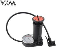 Насос CB-1646 ножной металлический с манометром, 45x240 мм, A/V, F/V (УТ00020483)