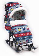 Санки-коляска детские Ника Детям 7-5 (лего)