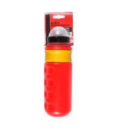 Бутылочка велосипедиста, 600 мл, полимер., защит. колпачок от пыли (H-W36)