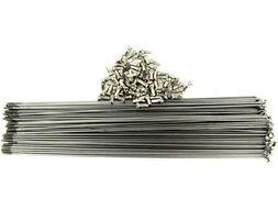 Спица 274 мм x 14G с ниппелем стальная, серебристая (УТ00019937)