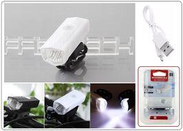 Фара передняя алюминиевая, USB кабель, 800 mAh, CREE LED, 300 Lum, 3 режима работы, RPL-2255 (УТ00019035)