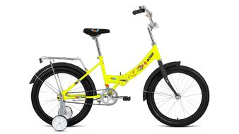 """ALTAIR CITY KIDS 20 Compact (20"""" 1 ск. рост 13"""" скл.) 2019-2020, ярко-желтый, RBKT05N01004"""