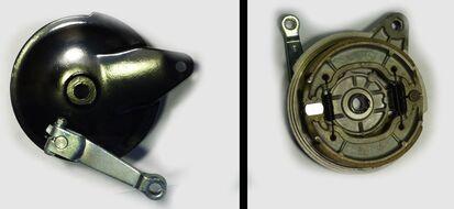 крышка заднего колеса (тормоза) в сборе Racer RC200CK/RC250CK Nitro