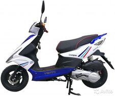 Скутер VENTO Corsa TMEC50QT-9A 49 л.с., синий/белый (ScVCorsaBlW)