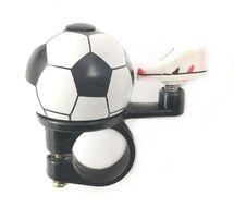 Звонок велосипедный, алюминиевый D40 (футбольный мяч, 4630031482931)