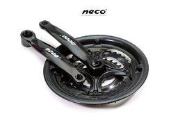 """Комплект шатунов (Система), D-EDх3 """"NECO"""",  NSS3001, длина 170 мм, 28/38/48, с пластиковой защитой (черный)"""