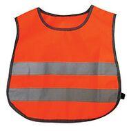 Светоотражающий защитный жилет, детский, 450х400 (оранжевый, TS-C-04orange)