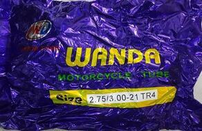 камера 2.75/3.00-21 TR4 (49MM) (560g. бутил 50шт. мешок) WANDA