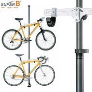 """Стенд для обслуживания/торговая стойка, """"Super B"""", 1967, Алюминиевый, на 2 велосипеда, вертикальный, (TW) (RST1967SUB01)"""