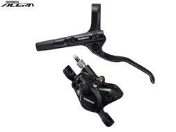 Тормоз передний, комплект, гидравлический, BL-MT200(L)/BR-MT200(F) 750 мм, SM-MA-F160P/S, SHIMANO (черный, AMT200KLFURX075)