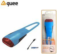Фонарь задний GUEE, TADPOLE, аккумуляторный, USB, 3,7V/260mAh, 4 Super LED Light, блистер (синий/черный, GU-SLA1-RA1-BE)