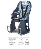 Кресло детское, быстросъемное, YC-816, крепление заднее, на багажник, нагрузка до 18 кг, защита для ног, Тайвань (YC-816)