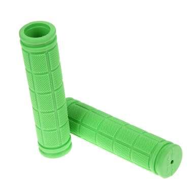 Рукоятки руля (грипсы, комплект), 120мм, резиновые, Joykie (зеленый) #0