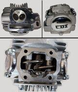 Головка цилиндра 4Т KAYO 140 см3 двигатель YX140 см3 в сборе (к-т с распредвалом)