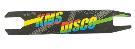 Шкурка (наклейка на деку) для трюковых самокатов 10x48,5 KMS DISCO (FW809475)