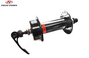 Втулка передняя FAT Bike, ANTAI AFD-902G, 32 отв. на промподшипниках, под диск (6 болтов), эксцентрик (10  мм), 135x145 мм (черный, NN005578)
