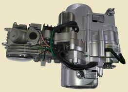 двигатель в сборе 4Т 125см3 1P153FMI (N-1-2-3-4) (с верх. э/стартером)