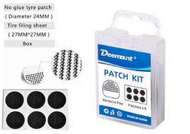 Аптечка велосипедная PatchKit, заплатки, 6 шт., самоклейки, шкурка, пластиковый бокс, DEEMOUNT