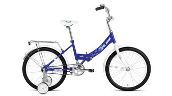 """ALTAIR CITY KIDS 20 Compact (20"""" 1 ск. рост 13"""" скл.) 2019-2020, синий, RBKT05N01008"""
