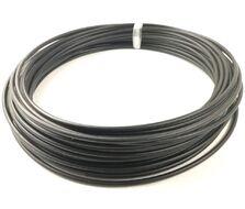 Оплетка троса переключения Ø4 мм, 20 м в упак., цвет черный (УТ00001757)