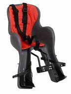 Кресло детское, крепление на руль, до 15кг, Италия (HTP SRL) (темно-серый/накладка красная)