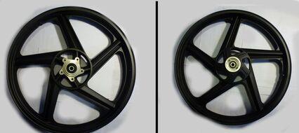 диск колесный передний 18-1,6 литой, дисковый YBR125, Racer RC150-23 Tiger