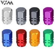 Колпачок на ниппель алюминиевый, VXM, шестигранный (цвета в ассортименте, УТ00019024)