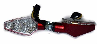 указатели поворота светодиодные (пара) MINI-S-LED-10 универсальные