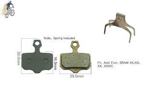 Тормозные колодки KROSTEK для дискового тормоза AVID Elixir, SRAM XX, XO, XXWS, блистер, RB-D28 (УТ00021166)