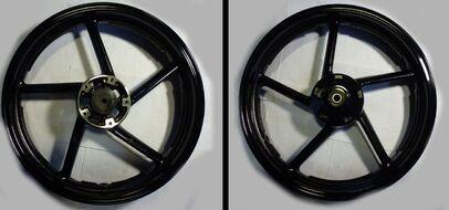 диск колесный передний 17-2,5 литой, дисковый Racer RC200CK/RC250CK Nitro