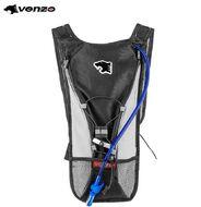 Рюкзак VENZO, с питьевой велосипедной системой (гидратором), (черный/белый)