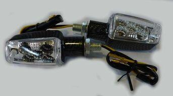 указатели поворота светодиодные (пара) MINI-S-LED-1 универсальные