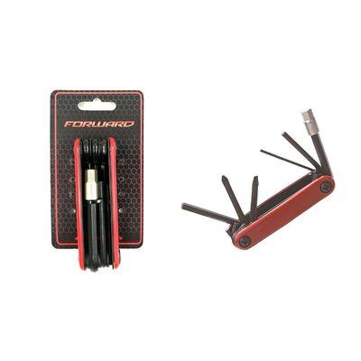 Набор инструментов KENLI, KL-9804A, ключи шестигран. 2/4/5/6/8 мм, отвертка (RKLTL9804A01) #0
